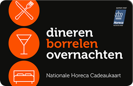 Nationale Horeca Cadeaukaart