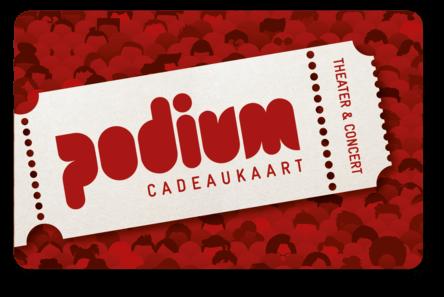 Podium Cadeaukaart