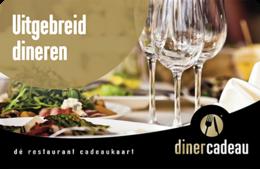 Uitgebreid dineren Cadeaubon