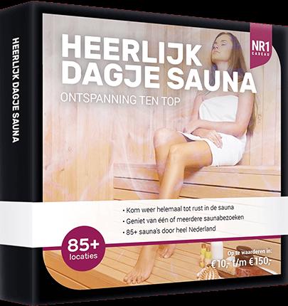 Heerlijk dagje sauna